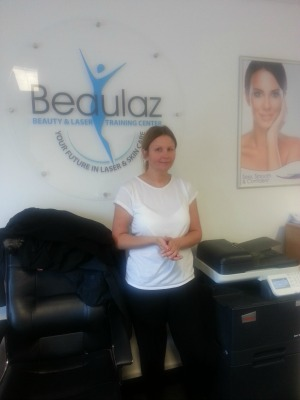 NVQ level 2 student Beaulaz