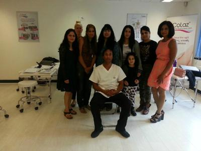Students laser and beauty school