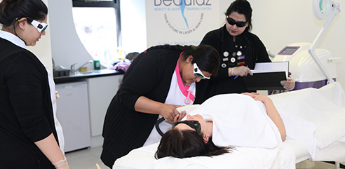 Laser Hair Removal Training